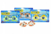 Brýle plavecké zvířátka 13cm - mix variant či barev