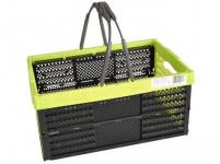 košík nákupné sklád.2 držadlá 39x26x19cm plastový - mix farieb