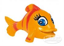 Dekorácia do akvária - Ryba oranžová Nobby 8 x 6 x 6 cm