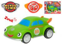 R / C Volkswagen Beetle zelený 18 cm na batérie so zvukom