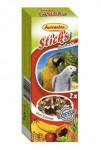 Tyčinky AVICENTRA ovocné pre veľké papagáje (2ks) - VÝPREDAJ