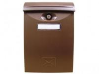 schránka poštová plastová, 240x340x90mm HN