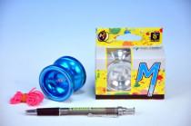 Jojo T6 - Rainbow 5x4cm hliník/kov s ložiskem - mix barev