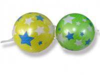 Lopta farebný nafúknutý plast 15 cm - mix farieb