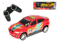 R / C auto športové 17 cm 27 MHz na batérie plná funkcie - mix farieb