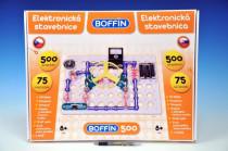 Stavebnica Boffin 500 elektronická 500 projektov na batérie