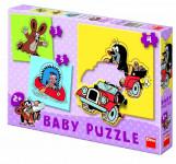 Puzzle baby Krtek 18x18cm 12 dílků