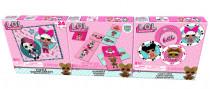 LOL trojitá zábava - puzzle, karty, domino
