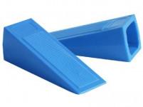 zarážka dverné klin 11x3cm plastová (2ks)