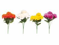 Kvetina Chryzantéma X7 7 kvetov mix 35cm - VÝPREDAJ