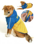 Obleček SPORT Žlutá/Modrá s kapucí 2V1 44cm KAR 1ks