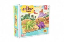 Puzzle dinosaurus 640x90cm