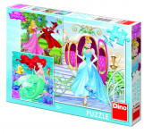 Puzzle 3x55 dílků Já Princezna