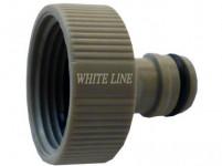"""adaptér s vnútorným závitom 1 """", WL-2197, WHITE LINE"""
