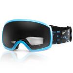 Spokey RADIUM lyžiarske okuliare modro-čierne