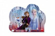 Puzzle doskové Ľadové kráľovstvo II / Frozen II 35,5x28cm 25 dielikov