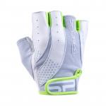 Spokey ZOE II Dámské - Fitness rukavice bílo-limetkové vel. S