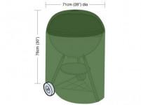 plachta krycia na okrúhly gril pr.71x76cm, PE 90g / m2