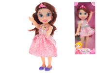 Bábika princezná 29 cm veľké oči - mix farieb