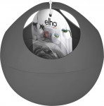 Elho obal B.For Soft Air - anthracite 18 cm
