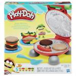 Play Doh Burger barbecue