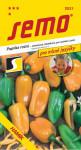 Semo Paprika zeleninová sladká - Hamík® na pole aj na rýchlenie 30s - séria Pro mlsné jazýčky
