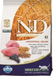 N & D Low Grain Cat Adult Lamb & Blueberry 0,3 kg