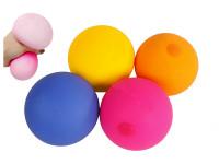 Míček strečový 9 cm - mix barev