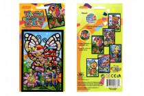 Trblietavý nalepovacie obrázok 15x10cm - mix variantov či farieb