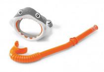 Potápěčská sada brýle + šnorchl žralok 3-8 let
