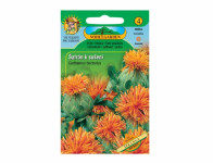Osivo Svetlice farbiarsky - Šafrán na sušenie, oranžová