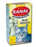 Sanal Premium multivitamín mačka tbl 85