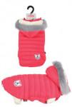 Obleček prošívaná bunda pro psy URBAN červená 25cm Zol