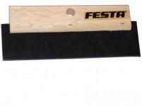 stierka 180mm drevená rukoväť, tvrdená guma FESTA