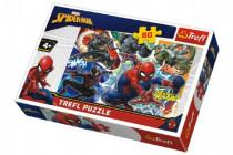 Puzzle Statočný Spiderman Disney 33x22cm 60 dielikov