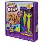 Kinetic sand plážová hracia sada s náradím
