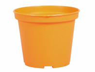 Květník sadbový MINI pevný oranžový 8cm 6ks