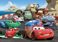 Cars 2, 100 dílků XXL