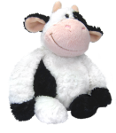 Kráva plyšová 33 cm