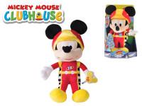 Mickey Mouse závodník plyšový 30 cm na baterie se zvukem