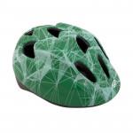 Spokey KINDLEY Dětská cyklistická přilba zelená, 48-52 cm