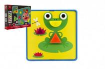 Mozaika puzzle 22 dielikov 12 obrázkov plast
