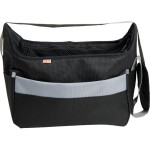 Transp. taška nylon Betty čierna 30 cm - do 5 kg