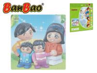 BanBao stavebnice základná doska 38,5x38,5 cm transparentné