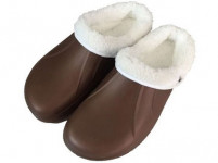 papuče gumové zimné pánske veľ. 40 (pár) - mix farieb