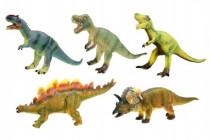 Dinosaurus mäkčený plast 40cm