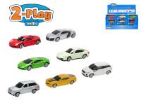 Auto kov 1:64 7,6cm na volný chod - mix variant či barev