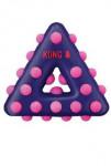 Hračka pes KONG Dotz trojuholník S
