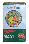 Seno lúčna Maxi RabbitWeed 2kg 100 l - VÝPREDAJ