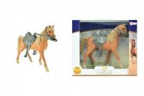 Kôň sa sedlom plast 20cm